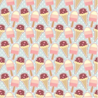 Summer Ice Creams Cutout