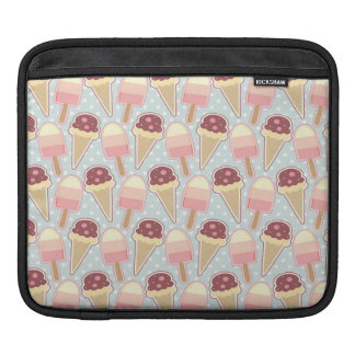 Summer Ice Creams iPad Sleeve