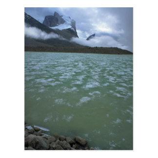 Summer ice in Summit Lake on Baffin Island, NWT, C Postcard