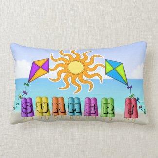 Summer - Ice Pops Lumbar Pillow