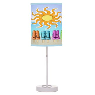 Summer - Ice Pops Table Lamp