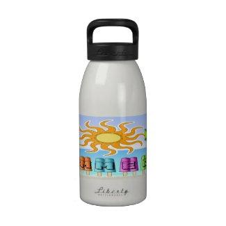 Summer - Ice Pops Water Bottle (16 oz)