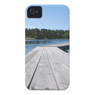 Summer idyll on a lonely Swedish fjord iPhone 4 Cover