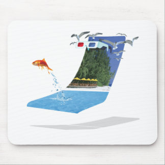 Summer in 3D Mouse Pad