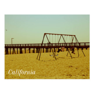 Summer in California Postcard