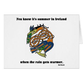 Summer in Ireland Card