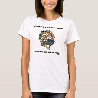 Summer in Ireland Ladies BD T T-Shirt