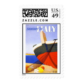 Summer in Italy Stamp