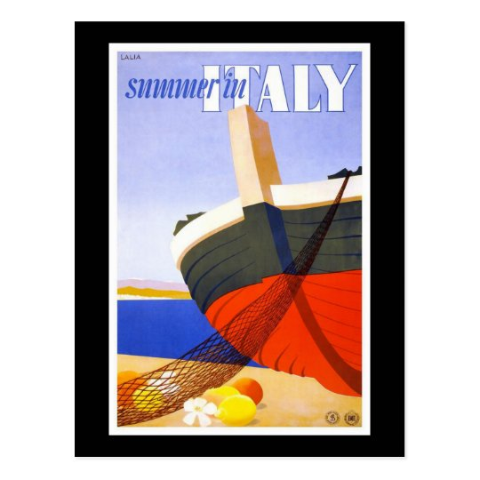 Summer in Italy Postcard