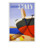 Summer in Italy Poster