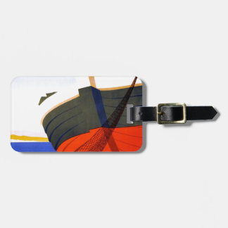 Summer in Italy Vintage Travel Bag Tag