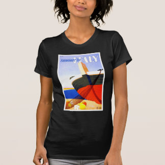 Summer in Italy Vintage Travel T Shirt