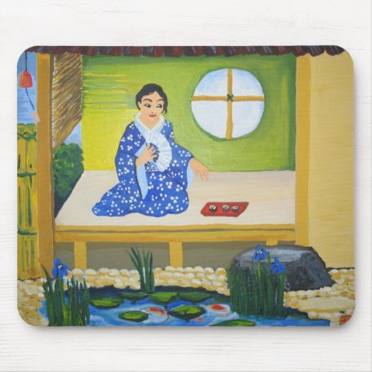 Summer in Japan Mouse Pad
