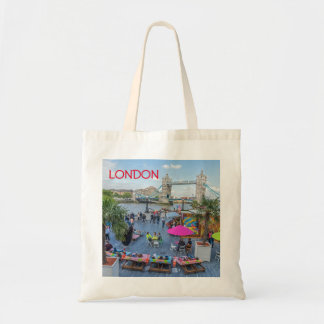 Summer in London tote bag