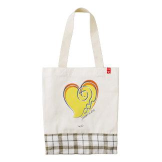Summer in Love-Signature Zazzle HEART Tote Bag