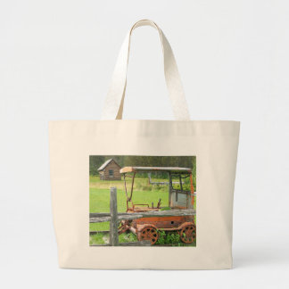 Summer In Maine Large Tote Bag