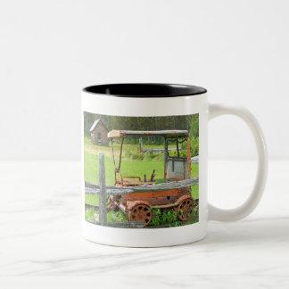 Summer In Maine Two-Tone Coffee Mug
