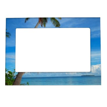 Beach Themed Summer in Maldives - 5x7 Magnetic Frame