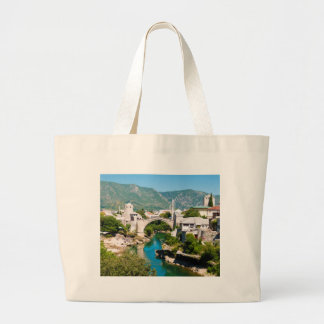 Summer in Mostar Large Tote Bag