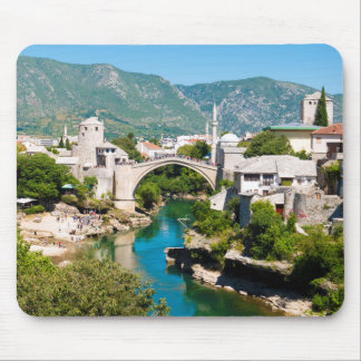 Summer in Mostar Mouse Pad