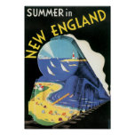 Summer in New England Print