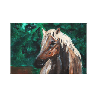"""Summer in Saratoga Wrapped Canvas (16.5"""" x 11"""")"""