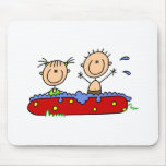 Summer in the Pool Mouse Pad