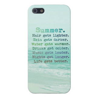 SUMMER iPhone Case Case For iPhone 5