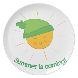 Summer is Coming Dinner Plates