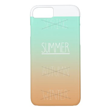 Beach Themed Summer is coming! iPhone 7 case
