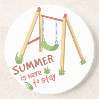 Summer Is Here Coaster