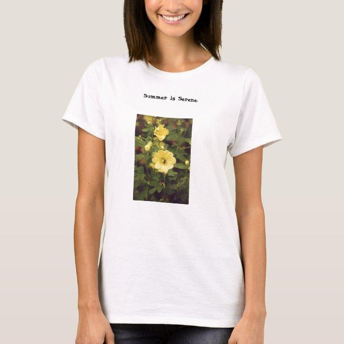 Summer is Serene t-shirt