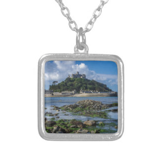 Summer island silver plated necklace
