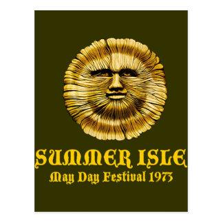 Summer Isle May Day Festival Postcard