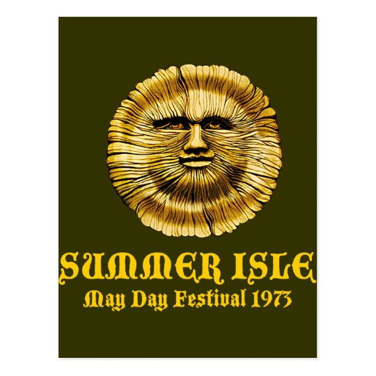 Summer Isle May Day Festival Postcard