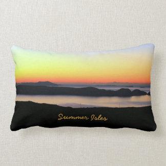 Summer Isles Throw Pillows