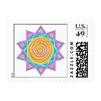Summer Joy Star Postage Stamps