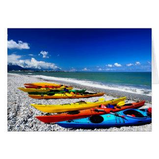 Summer Kayaking Card