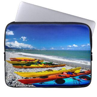 Summer Kayaking Computer Sleeve