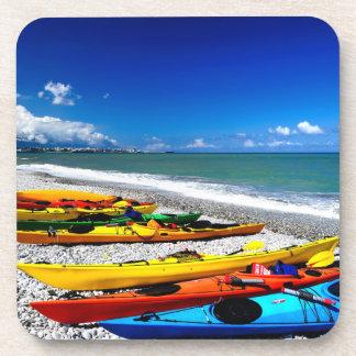 Summer Kayaking Drink Coaster
