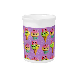 Summer Kitty Cats Madness Beverage Pitchers