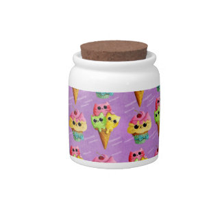 Summer Kitty Cats Madness Candy Jars