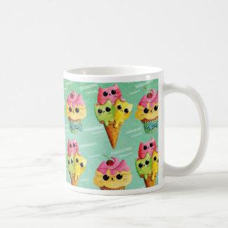 Summer Kitty Cats Madness Coffee Mugs