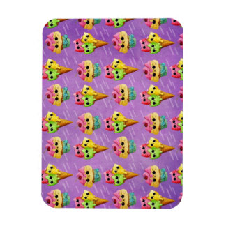 Summer Kitty Cats Madness Rectangle Magnets