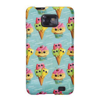 Summer Kitty Cats Madness Samsung Galaxy SII Cases