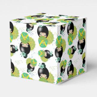 Summer Kokeshi Doll Favor Box