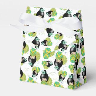 Summer Kokeshi Doll Gift Favour Box