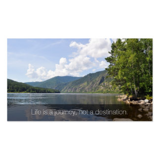 Summer Lake Inspirational Business Name Card Double-Sided Standard Business Cards (Pack Of 100)