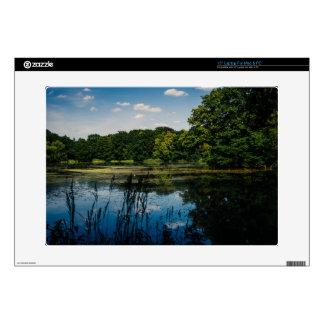 Summer Lake Landscape Photograph Laptop Skin