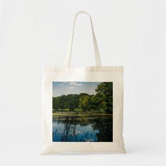 Summer Lake Landscape Photograph Tote Bag